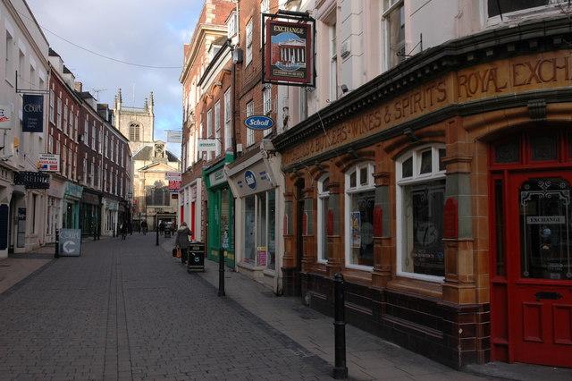 Mealcheapen Street, Worcester