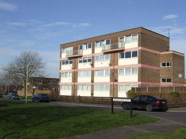 Block of flats in Gammon's Hill