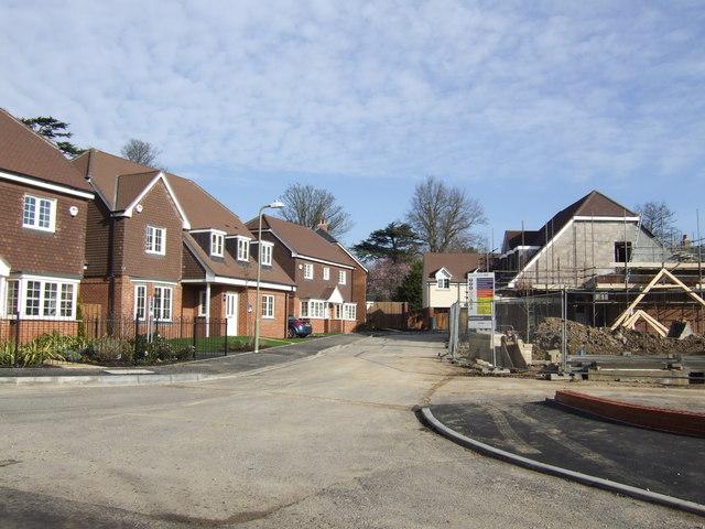 New-build near Horndean