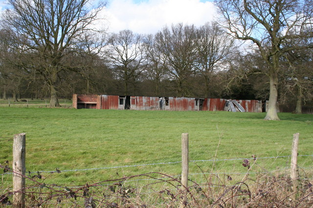 Hoppers' huts, Grange Farm, near Tonbridge, Kent