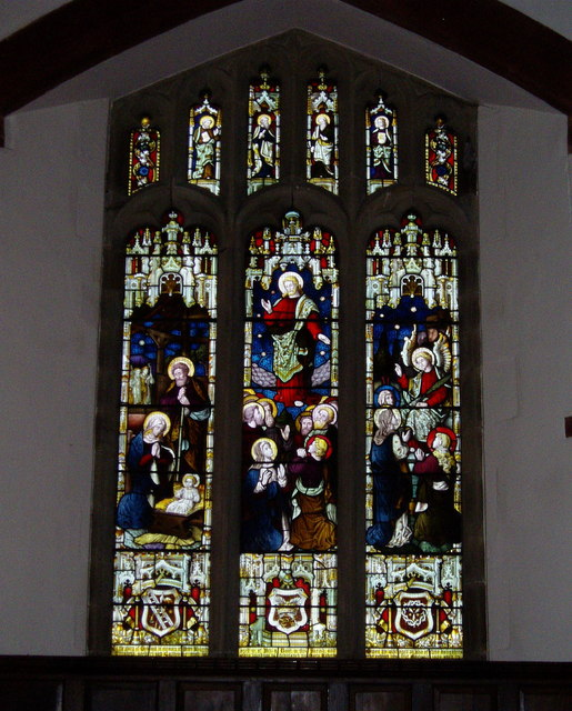 Llanfwrog Church window