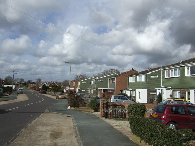 1960's housing in Cowplain