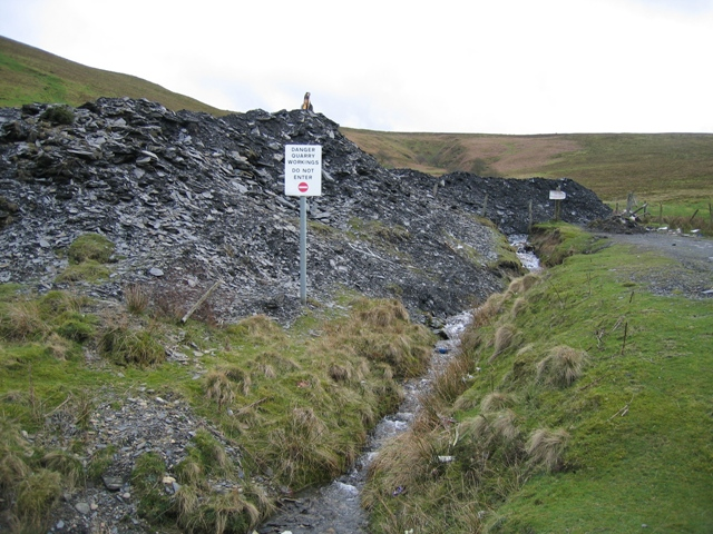 Stream and Quarry Workings