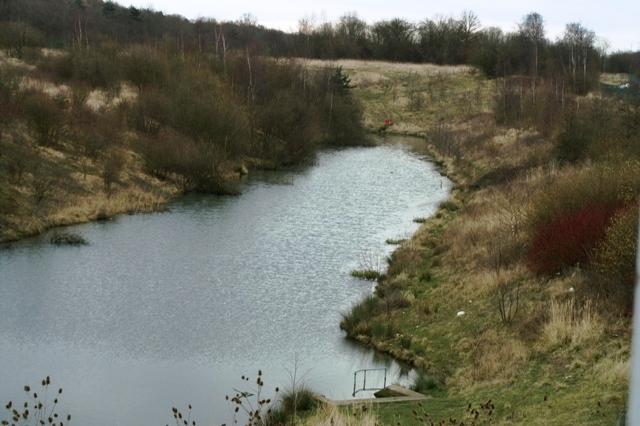 Holding lake at Eurohub west