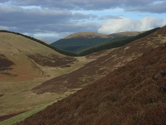 Northern flank of Glengap Head