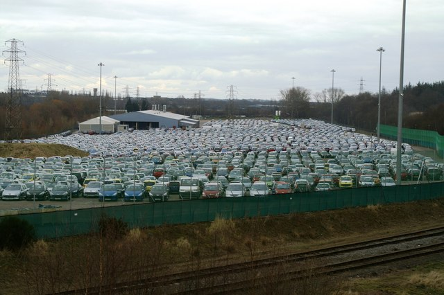 New cars at Eurohub central