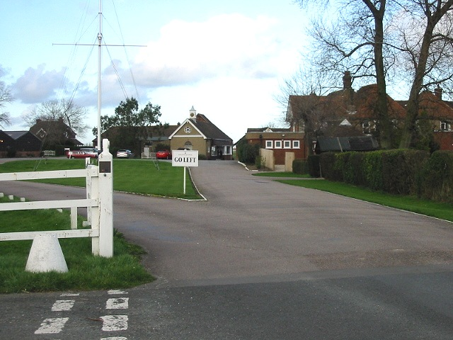 Entrance to Royal St George's Golf Club