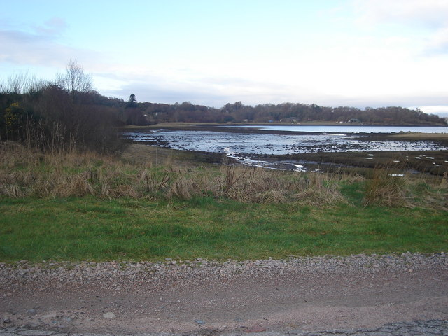 Shoreline of St Columba's Bay from the east