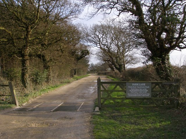 Gateway to Park Lane, Beaulieu Estate