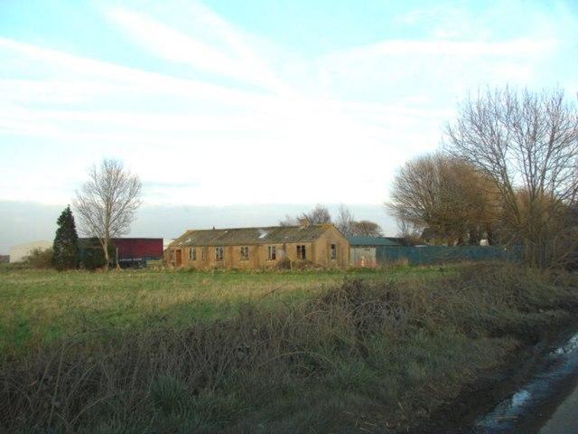 World War 2 Building on Pollington Airfield (disused)
