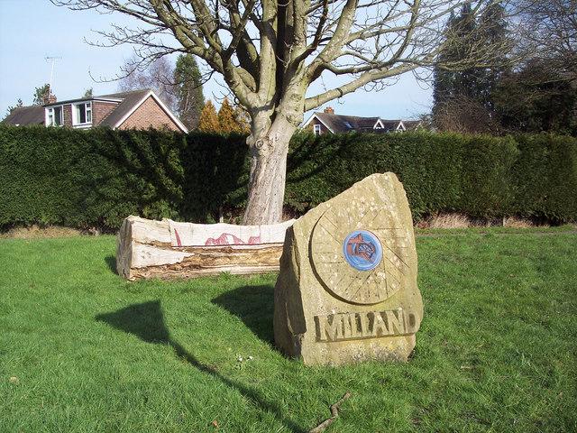 Village sign, Milland