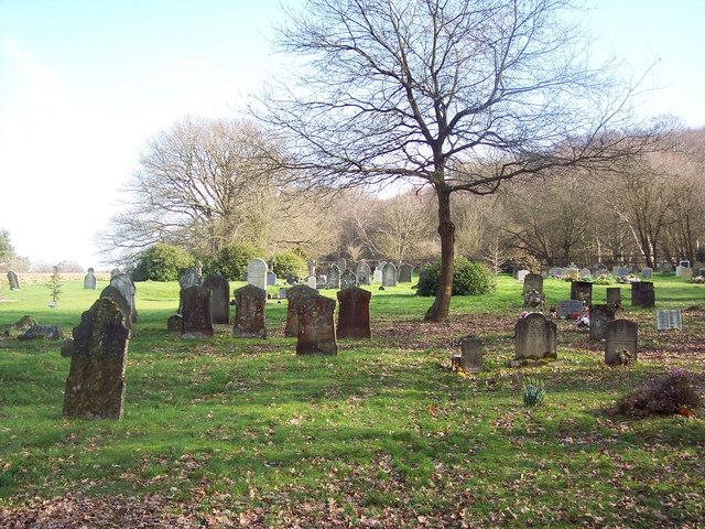 Graveyard near Robins