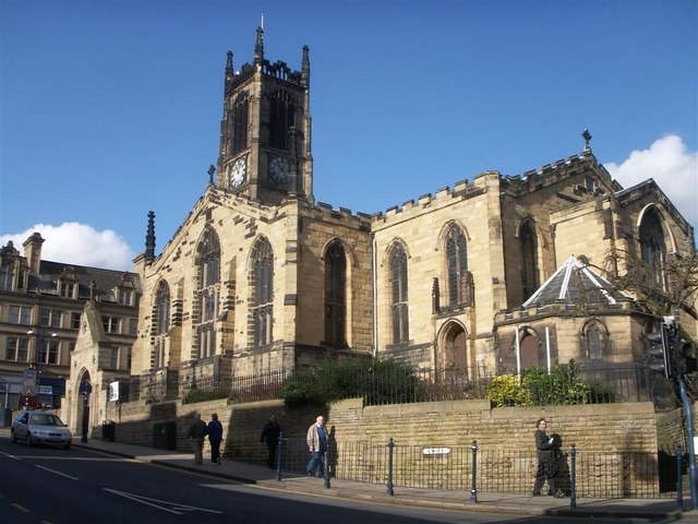 The church of St Peter - Kirkgate
