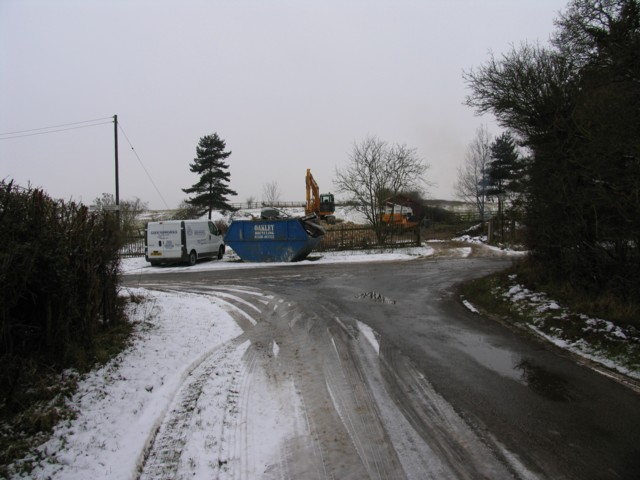 Rural building site