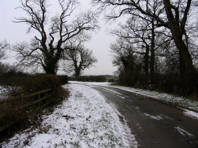 Towards Red Lodge Farm