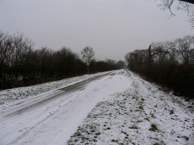Red Lodge Road eastwards