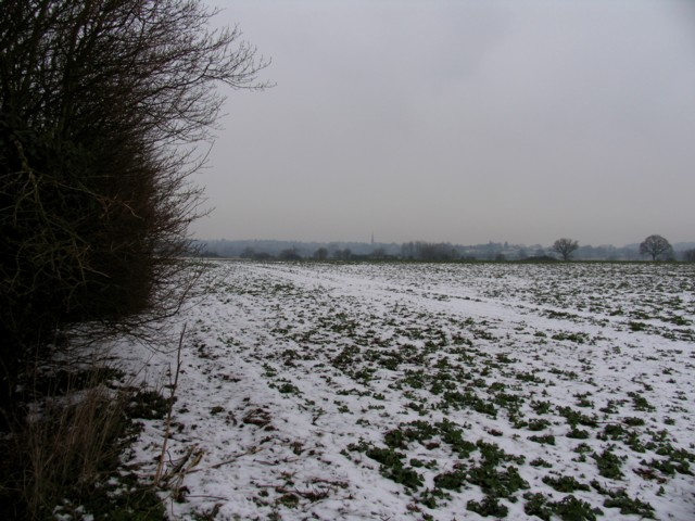 View towards Oundle