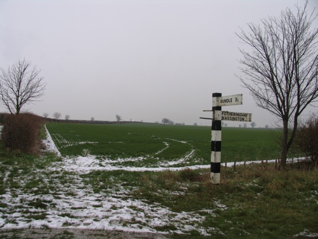 Fields and signpost