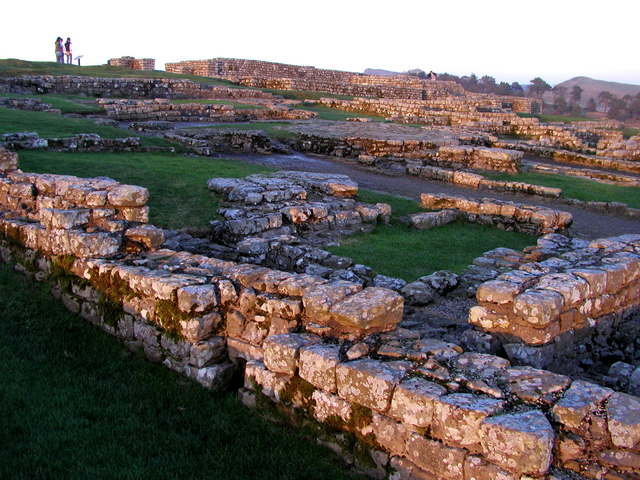 Housesteads at Sunset