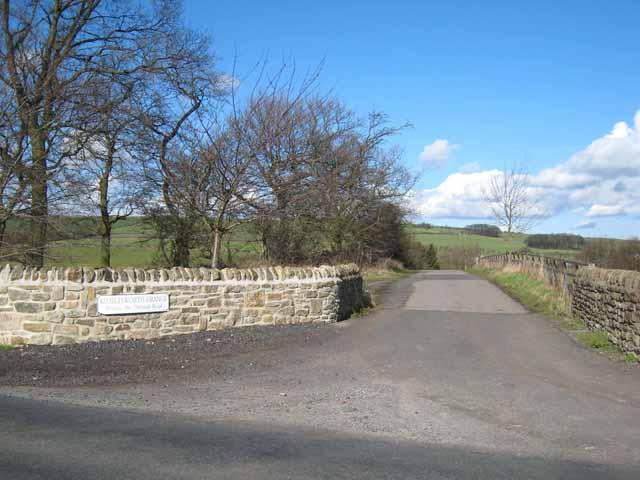 Driveway to Kimblesworth Grange