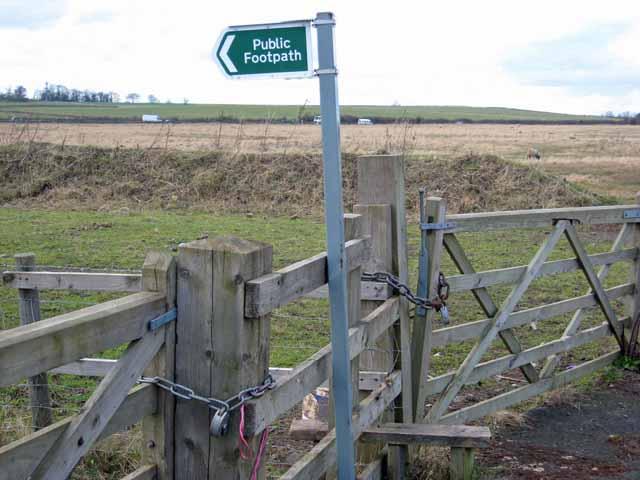 Gate at Leamside