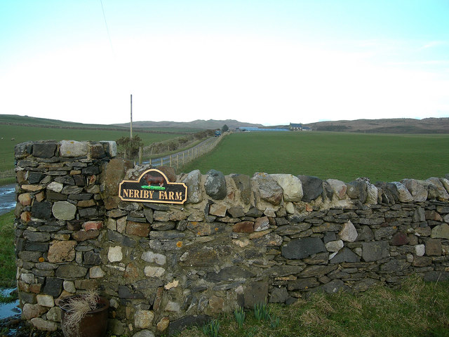 Neriby Road-End