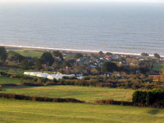 West Bexington from inland