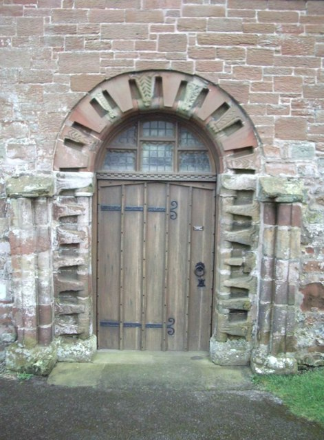 Doorway, St Michael's Church, Burgh by Sands