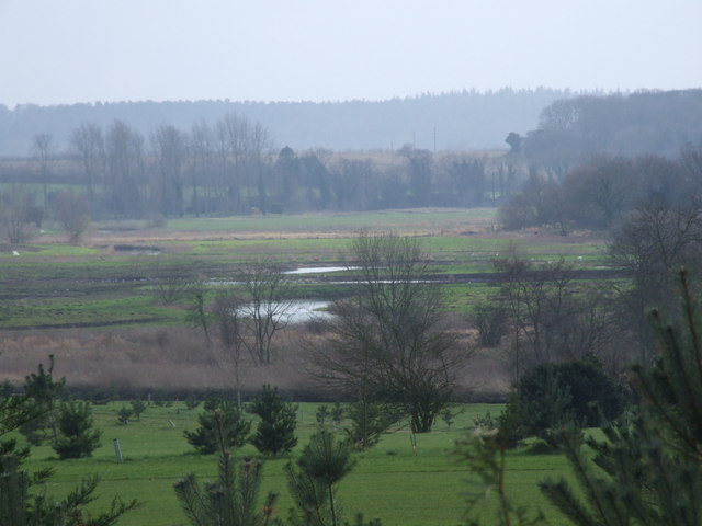 View across Golf Course to Marshes and River