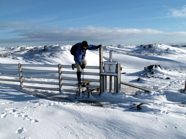 A new stile on Laddow Moss