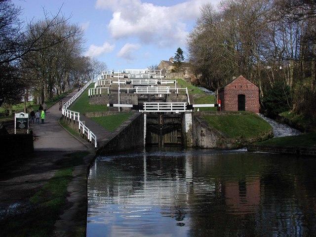 Five Rise Locks, Bingley
