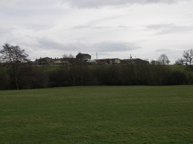 View to Arthingworth Lodge.