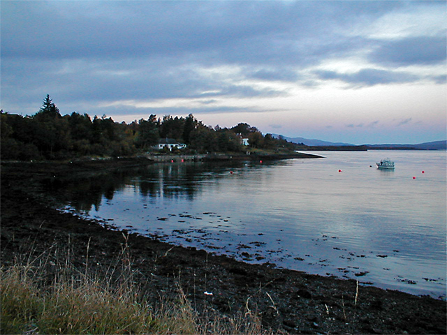 Bay at Rudha Riabhach