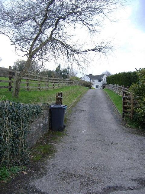 Heollas farm, Upper Ochrwyth