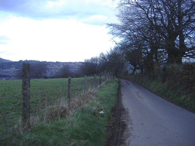 Road to Lower Ochrwyth
