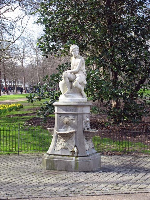 Statue in St James's Park