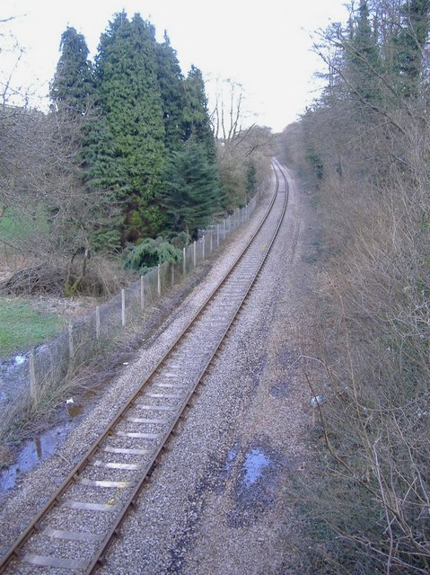 Railway, near Maypole