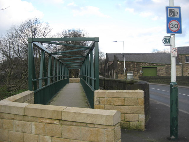 New Footbridge at Stubbins