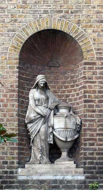 St Mary's Church, Paddington Green, W2 - Statue