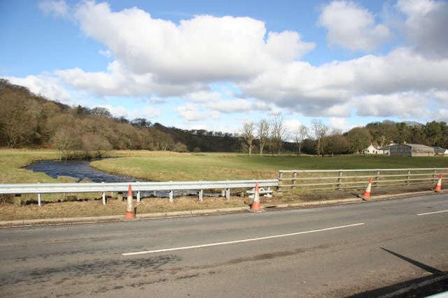 Greenock Water valley