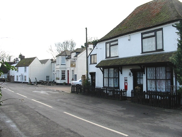 The White Stag pub and old Post Office