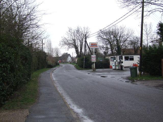 Bunwell Street Filling Station, Bunwell