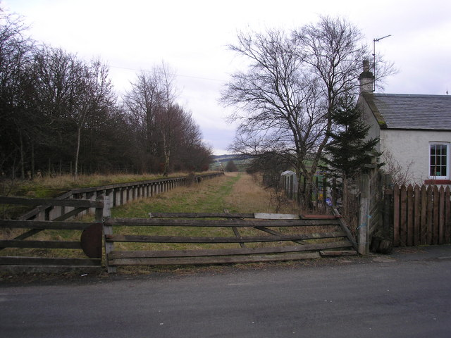 The Disused Heriot Railway Station