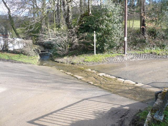 Robin Brook crosses Sloade Lane