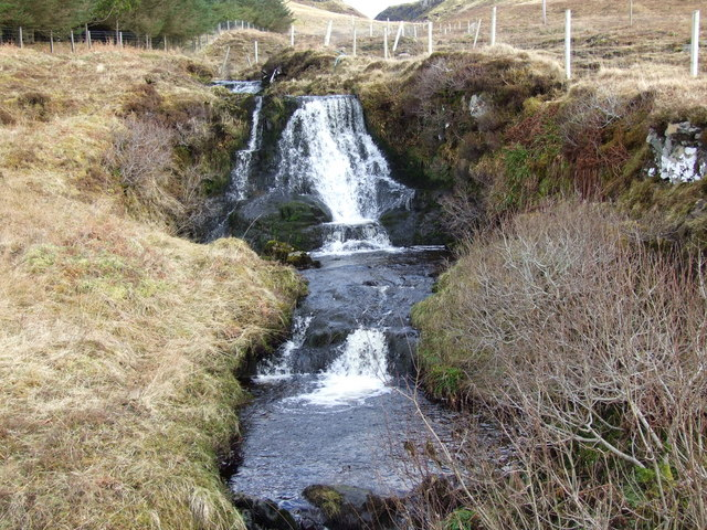 Waterfall on theLon na Stell