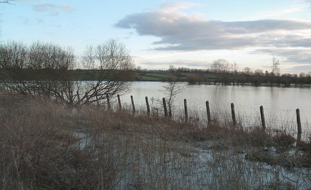 River Thame Floods  at Chearsley / Notley 136