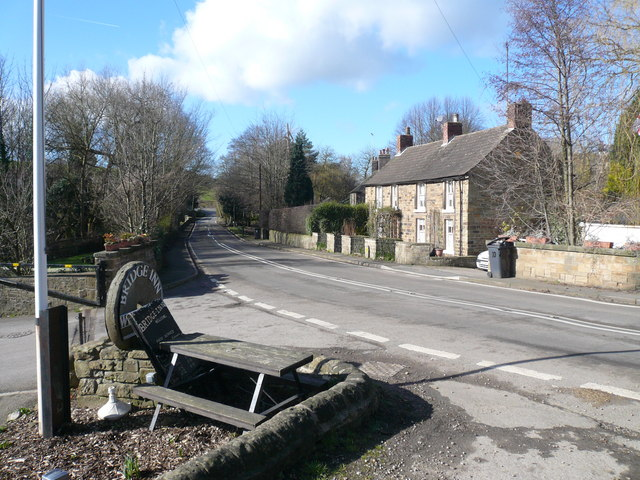 Ford Lane - View towards Geer Lane