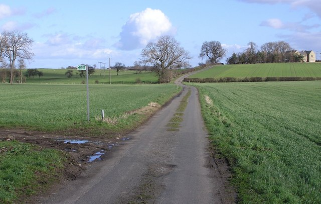 Lane to Hutton Fields and White House