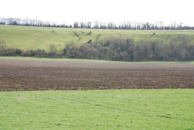 Ploughed field on Manor Farm