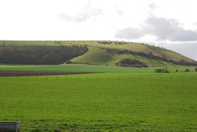 Escarpment from Manor Farm